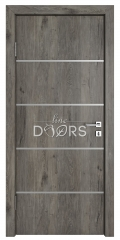 Дверь межкомнатная TL-DG-505 Серый кедр