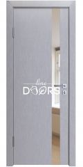 ШИ дверь DO-607 Металлик/зеркало Бронза
