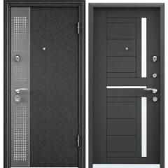 Дверь TOREX SUPER OMEGA 10 MAX Черный шелк / Темный-пепел