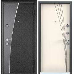 Дверь TOREX SUPER OMEGA 10 MAX Черный шелк / Слоновая кость
