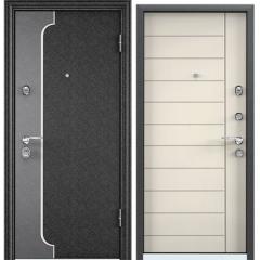 Дверь TOREX SUPER OMEGA 10 MAX Черный шелк / Слоновая кость RS-13