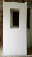 Техническая деревянная дверь ПО