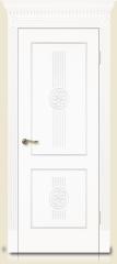 Дверь мебель массив Мадрид 1 Эмаль белая