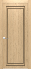 Дверь мебель массив Генуя 1 ПГ Дуб шампань