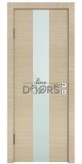 Дверь межкомнатная DO-510 Неаполь/стекло Белое