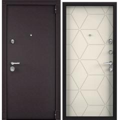 Дверь TOREX SUPER OMEGA 100 RAL 8019 / Слоновая кость