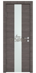 Дверь межкомнатная DO-510 Ольха темная/Снег