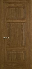 Дверь мебель массив Болонья 3 ПГ (Светлый дуб)