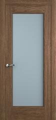 Дверь мебель массив Болонья 4 ПО (Дуб табак)