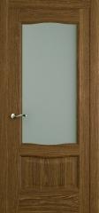 Дверь мебель массив Севилья ПО Светлый дуб
