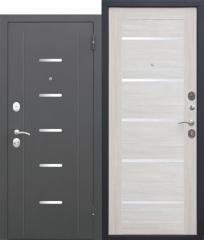 Входная дверь Ferroni 7,5 Гарда Муар ЦАРГА Лиственница беж