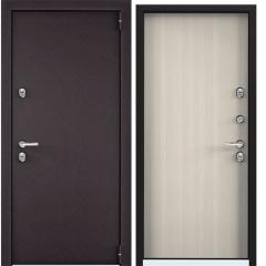 Дверь TOREX SNEGIR 55 MP RAL 8019 / Белый перламутр