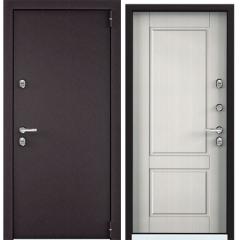 Дверь TOREX SNEGIR 55 MP RAL 8019 / Шамбори светлый
