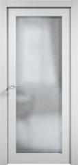 Дверь мебель массив Кантри 1 ПО (Эмаль Белая Дуб)