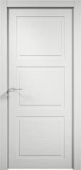 Дверь мебель массив Кантри 3 ПГ (Эмаль Белая Дуб)