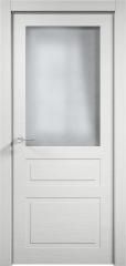 Дверь мебель массив Кантри 4 ПО (Эмаль Белая Дуб)