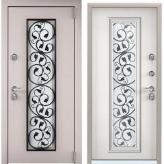Дверь TOREX SNEGIR 55C-03 Кремовый муар / Белый