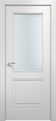 Дверь мебель массив Альфа 2 ПО (Эмаль Белая)