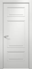 Дверь мебель массив Альфа 4 ПГ (Эмаль Белая)