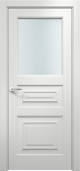 Дверь мебель массив Латина 3 ПО эмаль белая