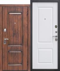 Входная дверь Ferroni 9,5 см ВЕНА Vinorit Патина МДФ/МДФ Белый матовый