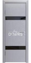 ШИ дверь DO-602 Металлик/стекло Черное