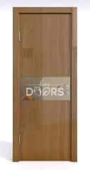 Дверь межкомнатная DO-501 Анегри темный/зеркало Бронза