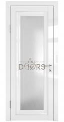 Дверь межкомнатная DO-PG6 Белый глянец/Ромб