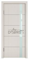 Дверь межкомнатная TL-DO-507 Крем/стекло Белое