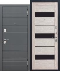 Входная дверь Ferroni 10,5 см ЧАРЛСТОН Царга ГЛЯНЕЦ МОККО