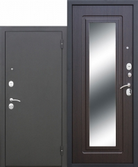 Входная дверь Ferroni Царское зеркало Муар Венге