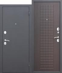 Входная дверь Ferroni Гарда МУАР 8 мм Венге