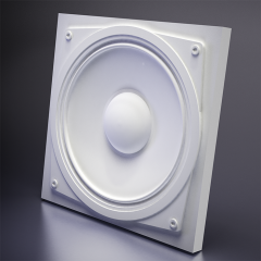 Гипсовая 3D панель SOUND 600x600x43 мм