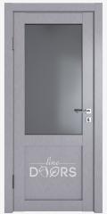 Дверь межкомнатная DO-OPTIMA1 Металлик