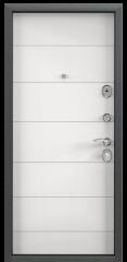 Дверь TOREX DELTA-100 Черный шелк / Белый Белый
