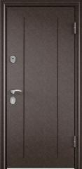 Дверь TOREX DELTA-100 Медный антик / Дуб мореный Дуб мореный