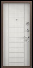 Дверь TOREX DELTA-100 Медный антик / Шамбори светлый ПВХ Бел шамбори