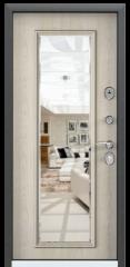 Дверь TOREX DELTA-112 Черный шелк / Дуб бежевый Дуб бежевый
