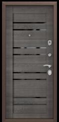 Дверь TOREX DELTA-112 Медный антик / CT Wood Grey