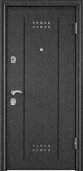 Дверь TOREX DELTA-M 10 Черный шелк / Лиственница белая ПВХ Лиственница белая