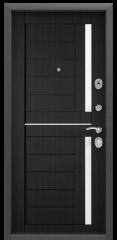 Дверь TOREX DELTA-M 10 Черный шелк / Венге ПВХ Венге