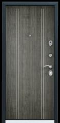 Дверь TOREX DELTA-M 10 Медный антик / Дуб пепельный Дуб пепельный