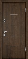 Дверь TOREX DELTA-M 10 Орех грецкий Орех грецкий / Дуб пепельный Дуб пепельный