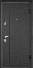Дверь TOREX DELTA-M 12 Черный шелк / ПВХ Бетон темный