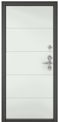 Дверь TOREX DOMANI 100 Синий гиацинт / RAL 9016 белый