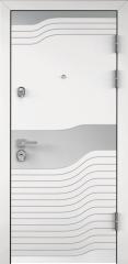 Дверь TOREX PROFESSOR 4+ 02 Белый Белый / Венге поперечное ПВХ Венге поперечное