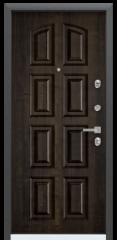 Дверь TOREX PROFESSOR 4+ 02 Черный шелк / Дуб мореный Дуб мореный