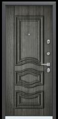 Дверь TOREX PROFESSOR 4+ 02 Черный шелк / Дуб пепельный Дуб пепельный