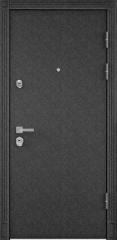 Дверь TOREX PROFESSOR 4+ 02 Черный шелк / Слоновая кость ПВХ слоновая кость