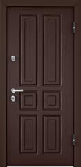 Дверь TOREX SNEGIR 20 RAL 8017 коричневый / Венге ПВХ Венге